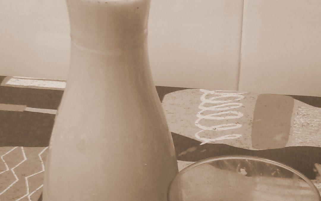 ¡Más almendras y menos leche de vaca!