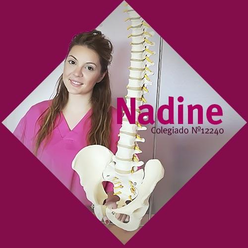 Nadine | Fisioterapeuta en Móstoles