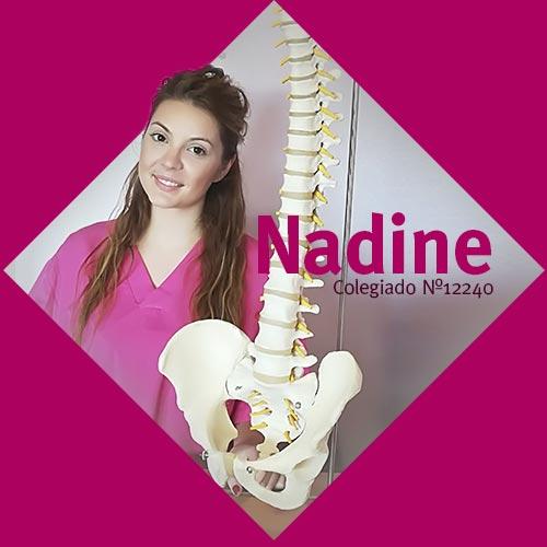 Nadine   Fisioterapeuta en Móstoles